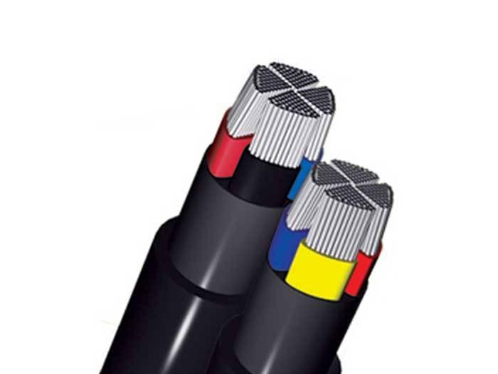 کابل آلومینیومی فشار ضعیف 3 فاز سایز 3*120+70