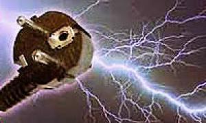 آذرخش و الکتریسیته