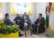 بازدید مدیران محترم شرکت های توزیع برق از غرفه سنتال- elecshow 2018