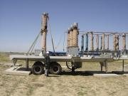 اجرای خط 20 کیلوولت دومداره،تجهیزوراه اندازی خط تولیدمیلگرد