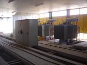 اجرای خط 20 کیلوولت دومداره،تجهیزوراه اندازی پروژه مجتمع فولادشاهین بناب