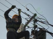 اصلاح و باز سازی شبکه برق روستای کندلج