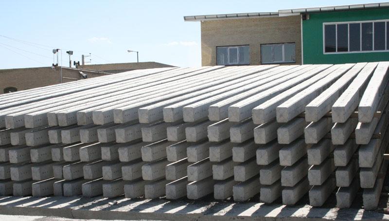 Production of H-form power concrete beams