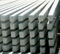 H-form power concrete beams
